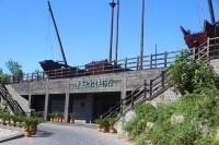 蓬莱阁老船博物馆